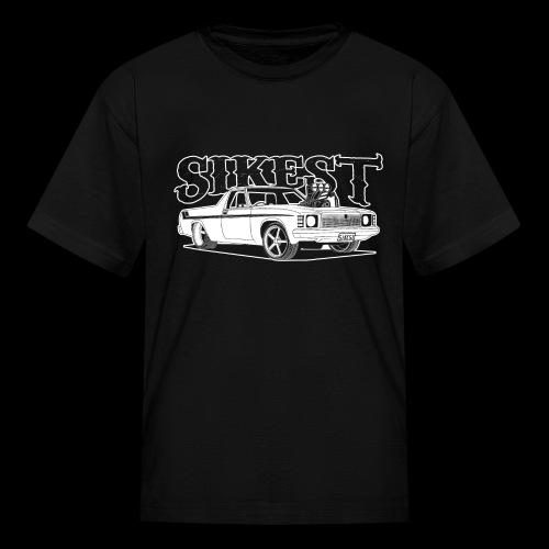 SIKEST - HJ UTE BLOWN BIG BLOCK DESIGN - Kids' T-Shirt