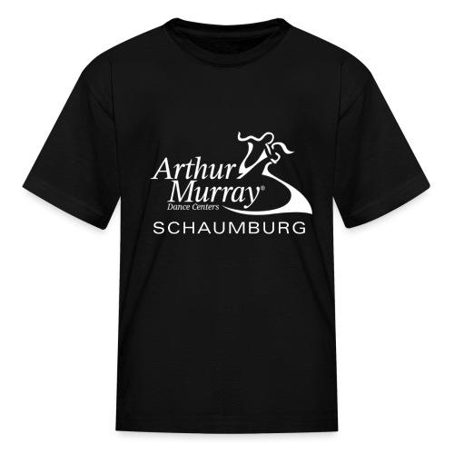 Arthur Murray Schaumburg White Logo - Kids' T-Shirt