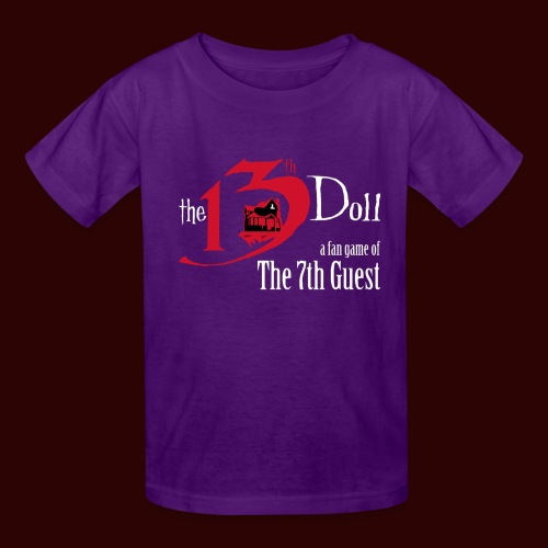 The 13th Doll Logo - Kids' T-Shirt
