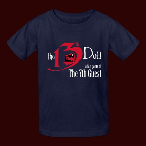 The 13th Doll Logo - Kids' T-Shirt