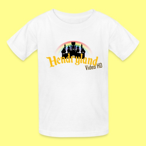 HENDRYLAND logo Merch - Kids' T-Shirt