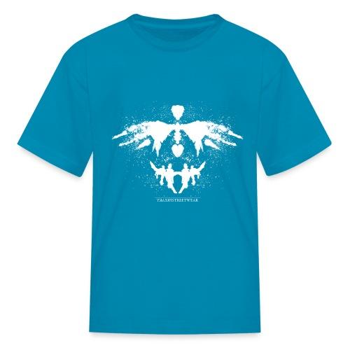 Rorschach_white - Kids' T-Shirt