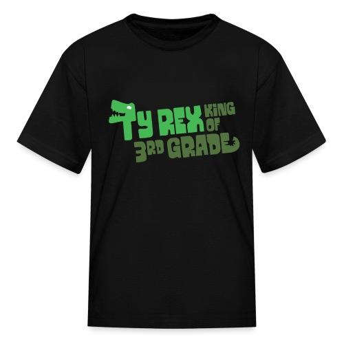 Ty Rex King of 3rd Grade - Kids' T-Shirt