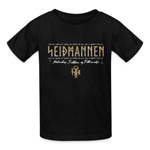 SEIÐMANNEN - Heathenry, Magic & Folktales - Kids' T-Shirt