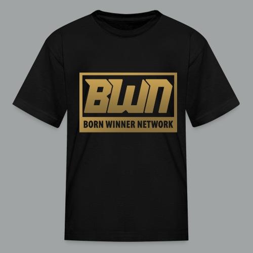 BWN (Gold) - Kids' T-Shirt