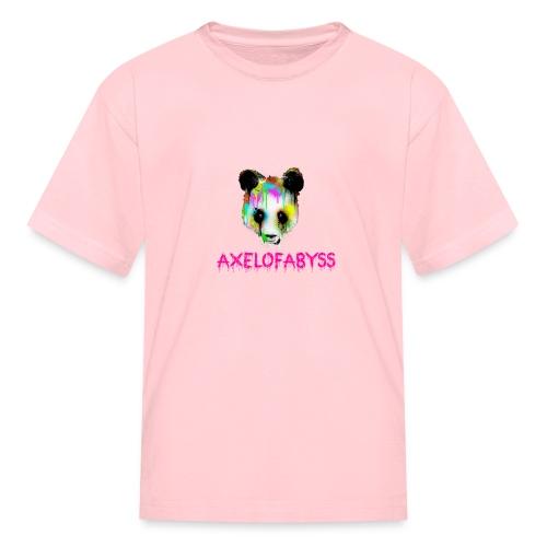 Axelofabyss panda panda paint - Kids' T-Shirt