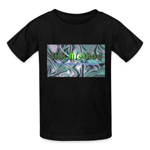 silk method - Kids' T-Shirt
