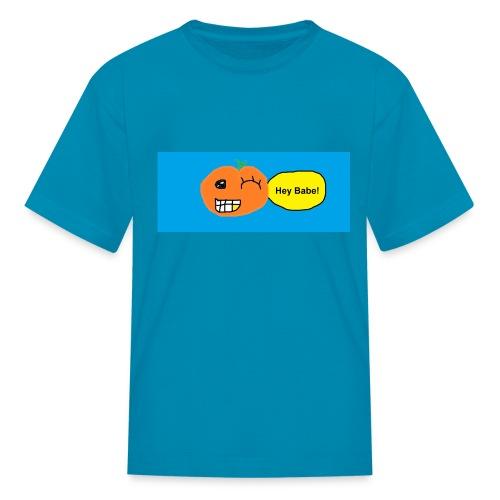 peachy smile - Kids' T-Shirt