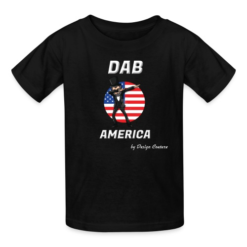 DAB AMERICA WHITE - Kids' T-Shirt