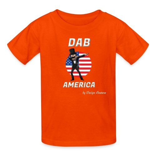 DAB AMERICA WHITE - Kids' T-Shirt