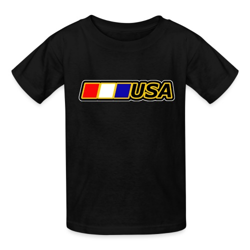 USA - Kids' T-Shirt