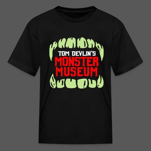 Monster Museum Mouth - Kids' T-Shirt