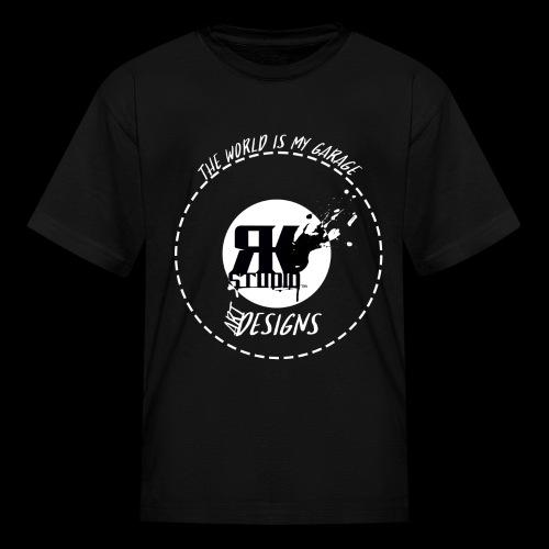 The World is My Garage - Kids' T-Shirt