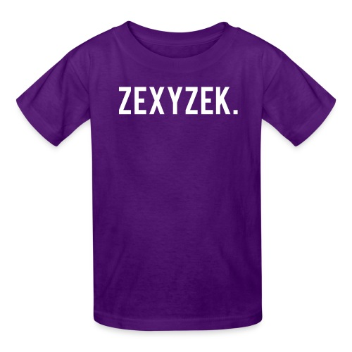 ZexyZekPeriod png - Kids' T-Shirt
