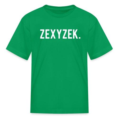 ZexyZekPeriod png - Kids' T-Shirt