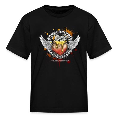 Honeydripping razorblades - Kids' T-Shirt