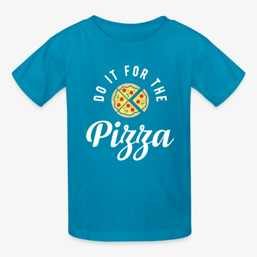 Do It For The Pizza - Kids' T-Shirt