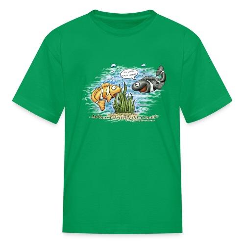 when clownfishes meet - Kids' T-Shirt