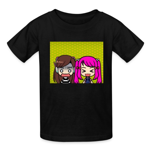 Phone case merch of jazzy and raven - Kids' T-Shirt