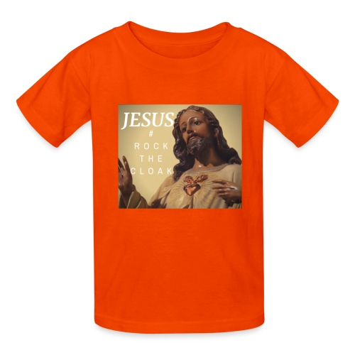 Jesus # Rock The Cloak - Kids' T-Shirt
