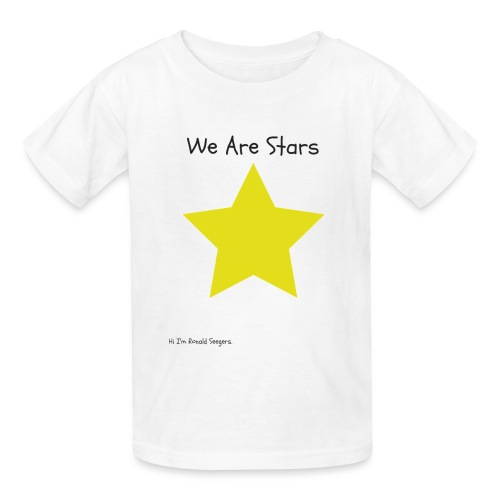 Hi I'm Ronald Seegers Collection-We Are Stars - Kids' T-Shirt