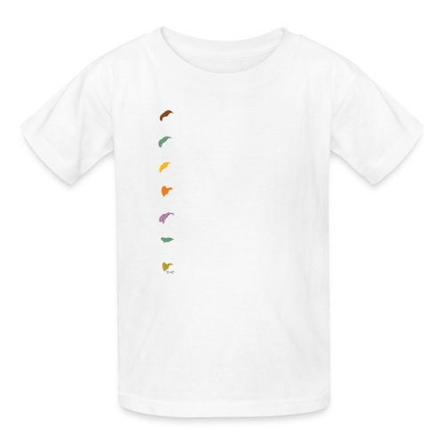 dwarfswhite - Kids' T-Shirt