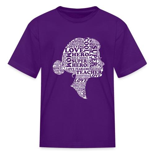 Mother Definition, Teacher Mom, Great Teacher Mom - Kids' T-Shirt