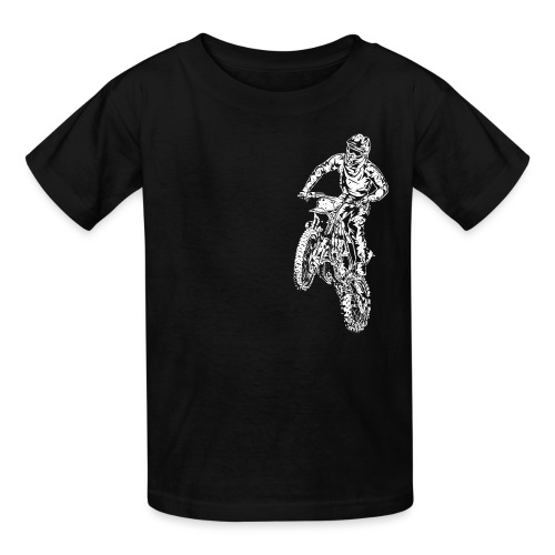 Motocross Dirt Bike Stunt - Kids' T-Shirt