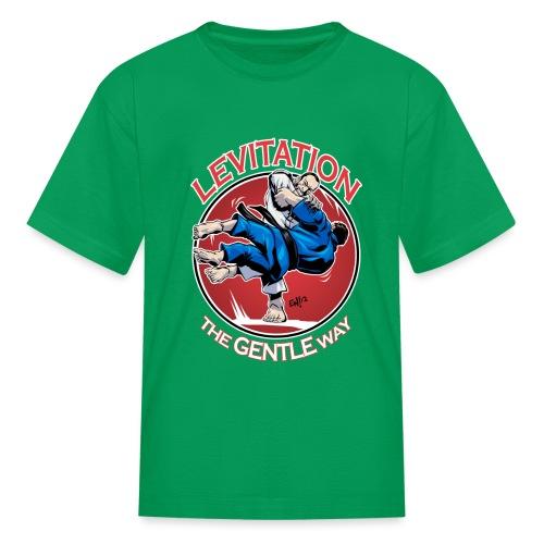 Judo Levitation for dark shirt - Kids' T-Shirt