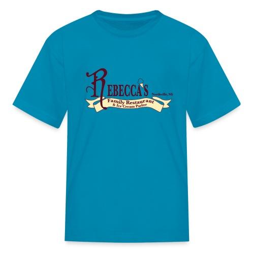 rebecca logo - Kids' T-Shirt