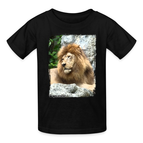 Lion On Rocks - Kids' T-Shirt