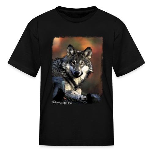 Wolf s Gaze - Kids' T-Shirt