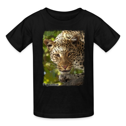 Leopard Stare - Kids' T-Shirt
