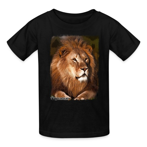 Regal Lion - Kids' T-Shirt