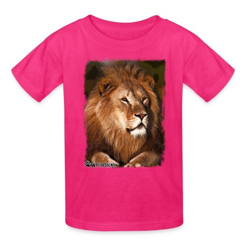 Regal Lion - Kids' T-Shirt