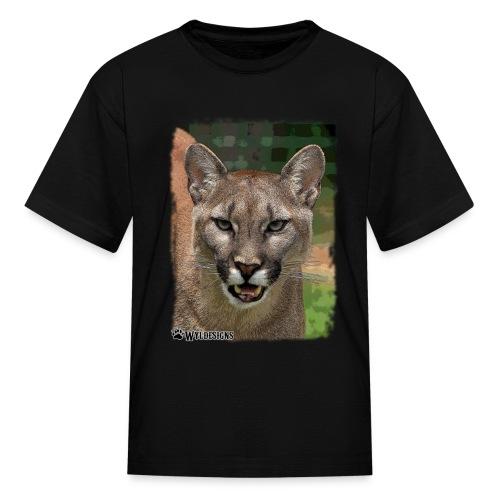 Cougar Stare - Kids' T-Shirt