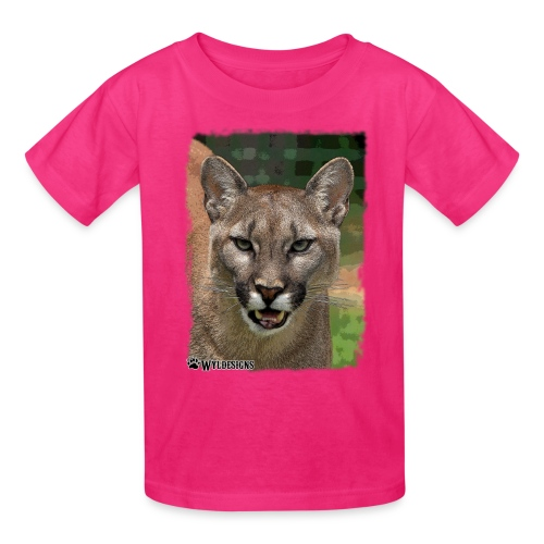 Cougar Stare - Kids' T-Shirt