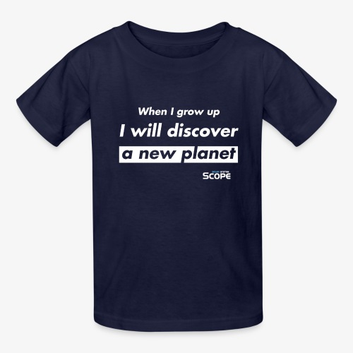 Solar System Scope : I will discover a new Planet - Kids' T-Shirt