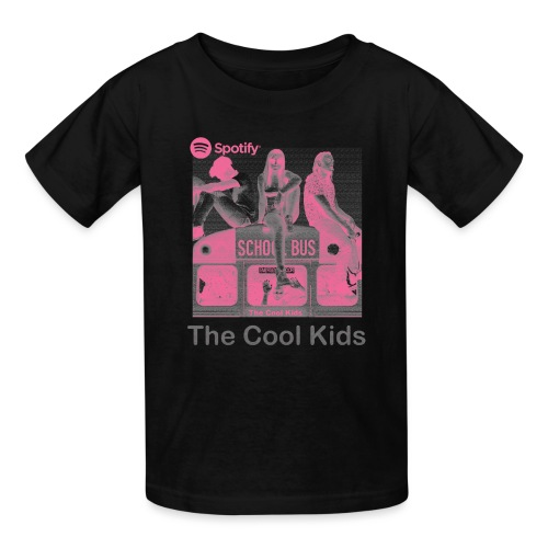 The Cool Kids - Pink Indigo - Kids' T-Shirt