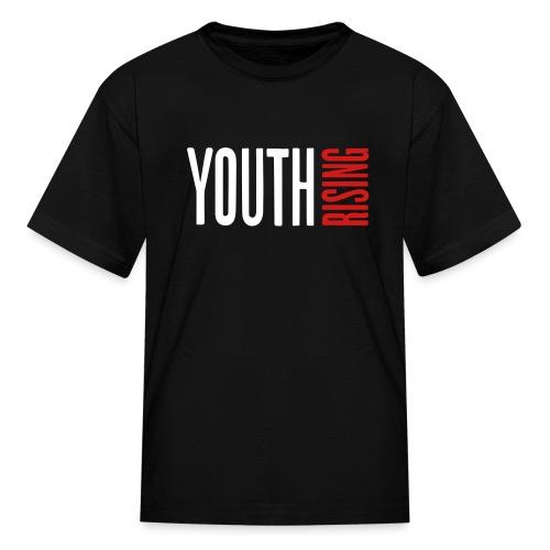 1br rev youth rising white - Kids' T-Shirt