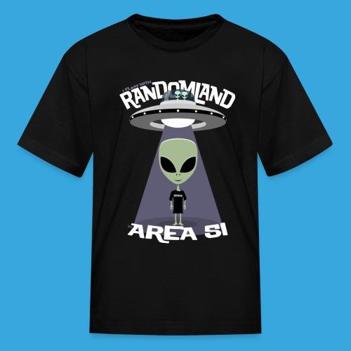 I flew to Area 51 - Kids' T-Shirt