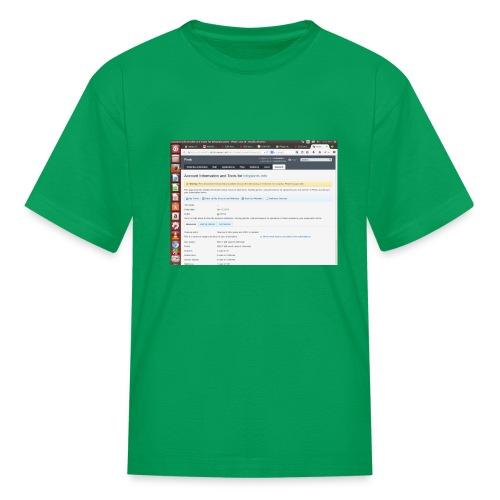 Screenshot from 2016 09 07 02 14 53 - Kids' T-Shirt