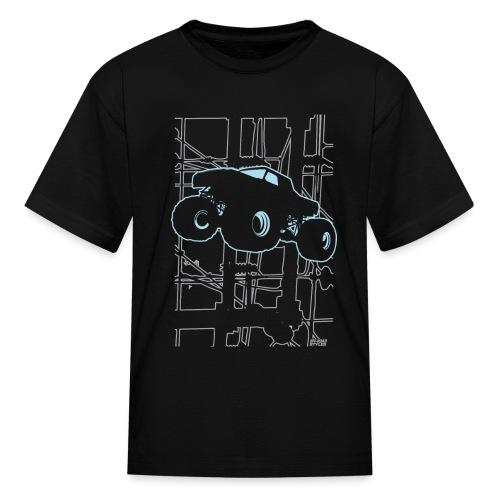 Monster Truck Electronica - Kids' T-Shirt