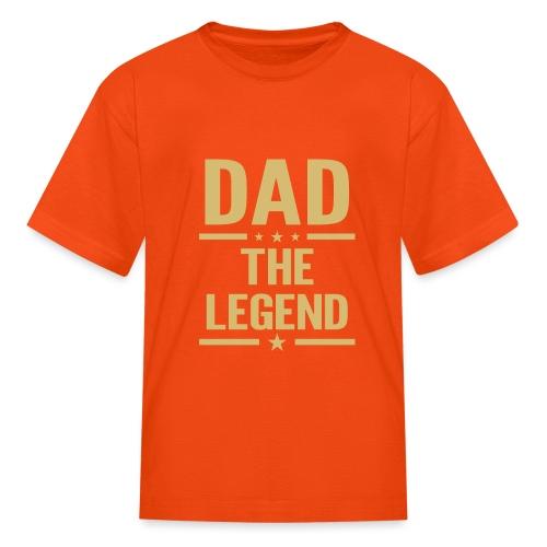 dad the legend - Kids' T-Shirt
