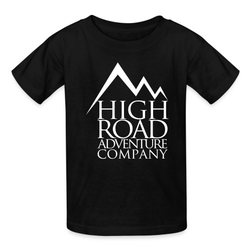 High Road Adventure Company Logo - Kids' T-Shirt