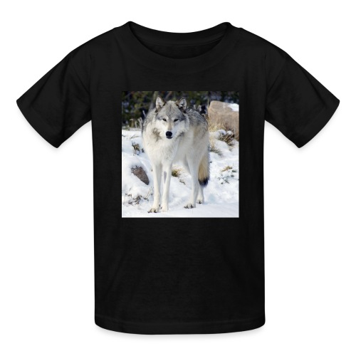 Canis lupus occidentalis - Kids' T-Shirt