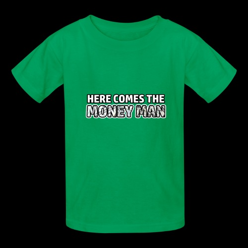 Here Comes The Money Man - Kids' T-Shirt