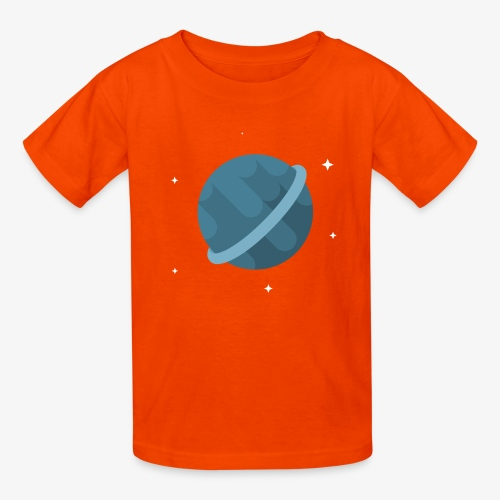 Tiny Blue Planet - Kids' T-Shirt