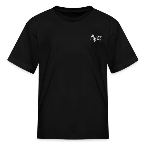 Mya, Signature Hand Drawn (White) - Kids' T-Shirt