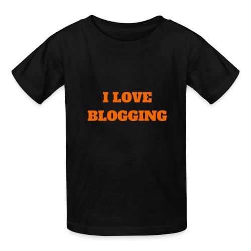 iloveblogging - Kids' T-Shirt